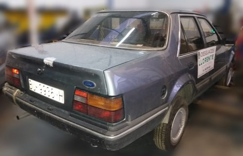 Carroceria lateral derecho – Ford Orion